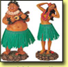 Hawaiian Hula Bobble Dolls
